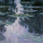 Water Lilies, 1907 06, Claude Oscar Monet
