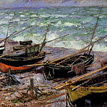 Fishing Boats, Claude Oscar Monet