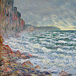 Fecamp, by the Sea, Claude Oscar Monet
