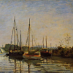Pleasure Boats, Claude Oscar Monet