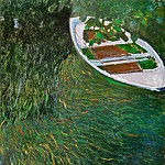 The Row Boat, Claude Oscar Monet