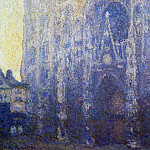 Rouen Cathedral, the Portal, Morning Effect, Claude Oscar Monet