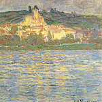 Claude Oscar Monet - View of Vetheuil