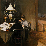 The Dinner, Claude Oscar Monet