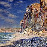 Claude Oscar Monet - Cliff near Fecamp
