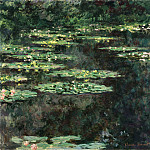 Water Lilies, 1904 04, Claude Oscar Monet