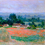 Claude Oscar Monet - Haystack at Giverny