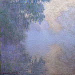 Claude Oscar Monet - Morning on the Seine 02