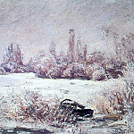 The Frost, Claude Oscar Monet
