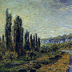 The Road from Vetheuil, Клод Оскар Моне