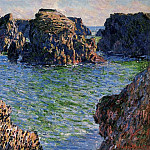 Coming into Port-Goulphar, Belle-Ile, Claude Oscar Monet