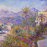 Strada Romada in Bordighera, Клод Оскар Моне