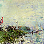 Клод Оскар Моне - Regatta at Argenteuil