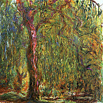 Weeping Willow 4, Claude Oscar Monet