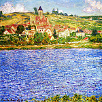 Claude Oscar Monet - Vetheuil, Afternoon