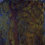 Weeping Willow 5, Claude Oscar Monet