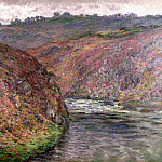Valley of the Creuse, Grey Day, Claude Oscar Monet