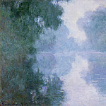 Morning on the Seine near Giverny, the Fog, Claude Oscar Monet
