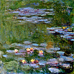 Water Lily Pond, 1917-19 01, Claude Oscar Monet