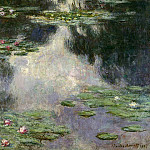 Water Lilies, 1907 12, Claude Oscar Monet