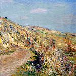 The Road to Giverny, Claude Oscar Monet
