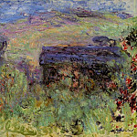 Claude Oscar Monet - The House Seen through the Roses