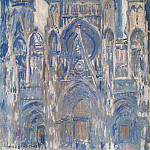 Claude Oscar Monet - Rouen Cathedral, Study of the Portal