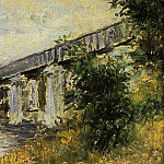 The Railway Bridge at Argenteuil 2, Claude Oscar Monet