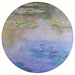 Claude Oscar Monet - Water Lilies, 1907 08