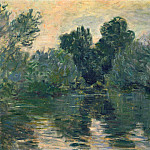 The Arm of the Seine, Claude Oscar Monet