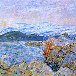 The Gulf Juan at Antibes, Claude Oscar Monet