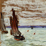 Open Sea, Claude Oscar Monet