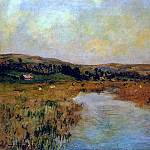 Claude Oscar Monet - The Valley of the Scie at Pouville