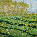Springtime Landscape at Giverny, Claude Oscar Monet
