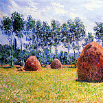 Haystacks at Giverny, Клод Оскар Моне