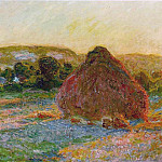Haytstacks , Claude Oscar Monet