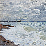 Claude Oscar Monet - The Sea at Saint-Adresse