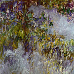 Claude Oscar Monet - Wisteria (left half)