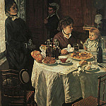 The Luncheon, Клод Оскар Моне
