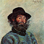 Portrait of Poly, fisherman at Kervillaouen, Claude Oscar Monet