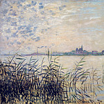 The Seine near Argenteuil, Claude Oscar Monet