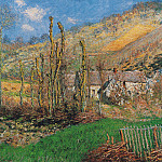 Winter Landscape at the Val de Falaise, Claude Oscar Monet