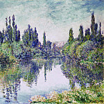 Morning on the Seine, near Vetheuil, Claude Oscar Monet