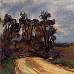 Claude Oscar Monet - The Road and the House