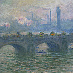 Waterloo Bridge, Claude Oscar Monet