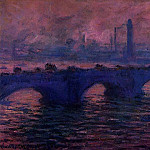 Claude Oscar Monet - Waterloo Bridge, Overcast Weather 2
