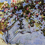 The Rose Bush, Claude Oscar Monet