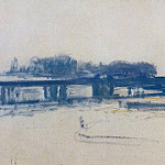 Charing Cross Bridge , Claude Oscar Monet