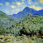 Valle Bouna near Bordighera, Claude Oscar Monet