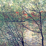 The Isle Grande-Jatte, Claude Oscar Monet